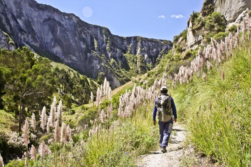 Canyon de Toachi en Equateur - Crédit : Julien Freidel