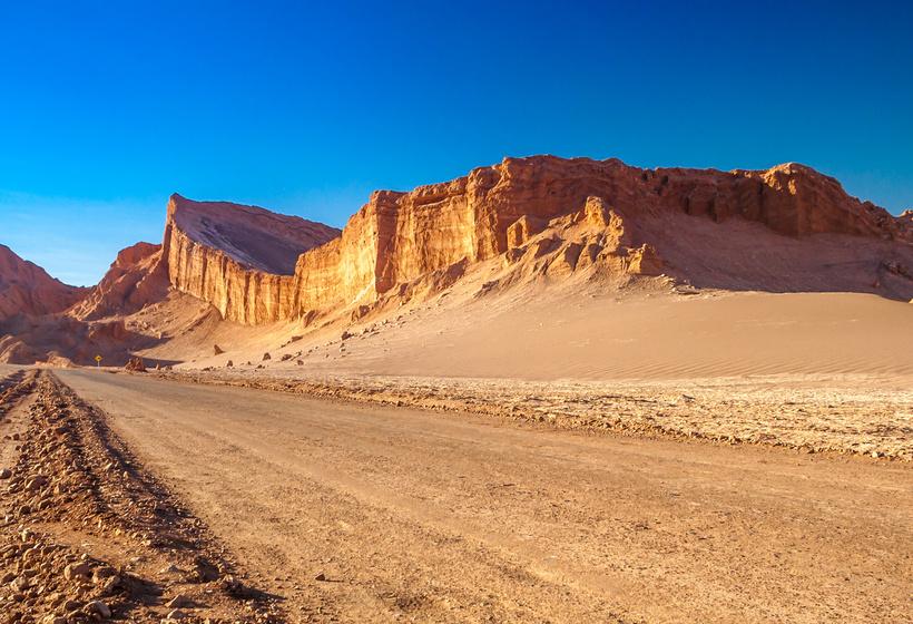 Le désert de l'Attacama est le désert le plus aride au monde.