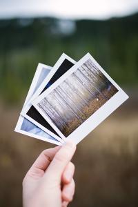 Album photo polaroid