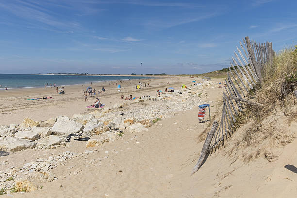 Plage de sable fin à l'Île d'Oléron
