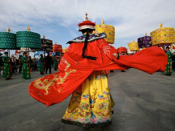 photo costume chinois